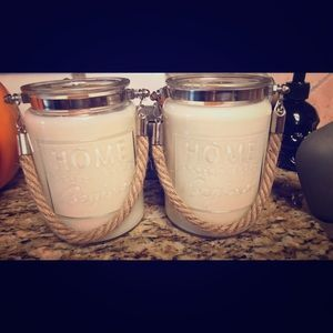 Soy wooden wick candle